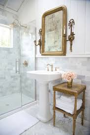 Traditional bathroom lighting 1930s Bathroom Lighting Over Mirror Craftsman Style Bathroom Cldverdun Pedestal Sink Pedestal And Traditional Bathroom On Pinterest
