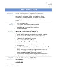 Janitor Job Description For Resume Resume Housekeeping Job Description For Resume 12