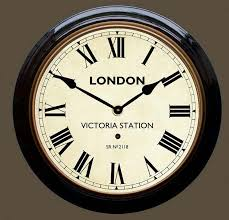 retro wall clocks victoria station