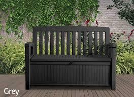 keter patio storage bench 227l storage