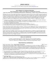 Click Here to Download this Senior Administrator Resume Template!  http://www.