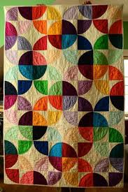 Drunkards Path Quilt Pattern Delectable Modern Drunkards Path Quilt Craftsy