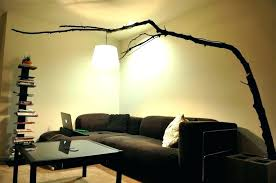 tree branch lamp black tree branch design ceiling lights country tree branch lamp large size of