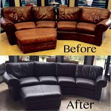 how to dye a leather couch leather