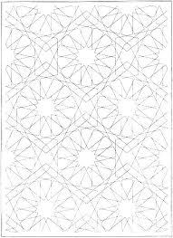 Geometric Coloring Sheet Campoamorgolfinfo