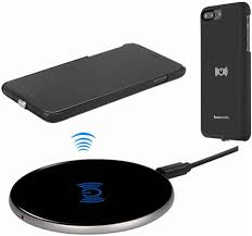 Amazon.com: Wireless Charger Kit for iPhone 7 Plus, hanende  [Sleep-Friendly] Qi Wireless Charging Pad and Wireless Receiver Case for iPhone  7 Plus (Jet Black)