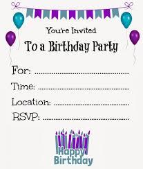 Make Birthday Party Invitations Free Printable Party Invitations Koriath Info