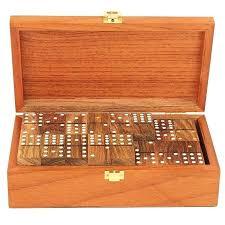 wooden domino set wooden dominoes set large wooden domino set vintage domino set in wooden box