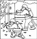 Раскраска пожарная безопасность скачать бесплатно