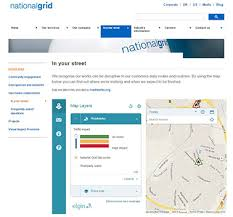 National Grid Customer Service National Grid Embeds Roadworks Org Map Into In Your Street Webpage