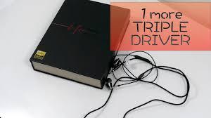 Супер <b>наушники 1more TRIPLE DRIVER</b> - YouTube