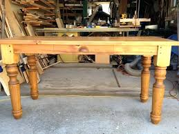 farm table desk custom made farm style desk with drawer and hand turned legs french farm