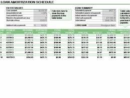 Sample Loan Amortization Schedule Excel Amortization Template Excel 2013 Bond Amortization Schedule Excel