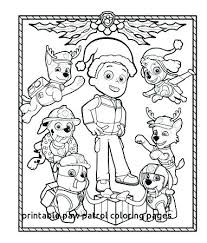 Paw Patrol Everest Printable Coloring Pages Coloring Pages Paw
