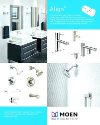 F Moen Voss Collection 4 In 2 Handle Bathroom Faucet Brushed  Nickel  Lighting Bath