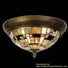 Demmerik 73 5348 Tiffany Plafond Lamp Demmerik 73 Tuin