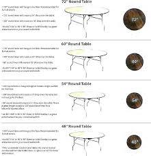 tablecloth size sizes oblong standard measurements chart oval linen