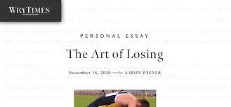 Aaron Wiener   Writer