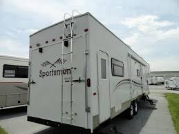 used 2004 k z sportster fifth wheel toy haulers in hendersonville nc ash493446 cing world rv 4 cing world