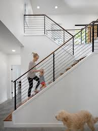 Amazing of Design For Staircase Railing Houzz Stair Railing Design Ideas  Remodel Pictures