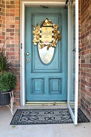 painting front doorPainted Front Door Colors  Refunk My Junk