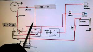 speed electric cooling fan wiring diagram