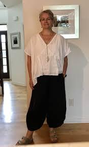 Tina Givens Designs Tina Givens Myra Shirt In Light Weight Linen With Phoebe