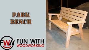 Project  How To Make A Park Bench With A Reclined Seat Out Of 8 How To Build A Seating Bench