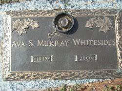 Ava Lucille Sigmon Whitesides (1917-2000) - Find A Grave Memorial