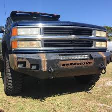 Weld It Yourself 1992-1999 Chevy Suburban Bumpers - MOVE