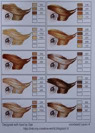 Copic Hair Color Chart Copic Hair Color Chart E J E R C I C I O S Como Pintar
