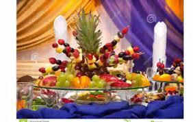 Decorative Fruit Trays Fruit Table Decoration YouTube 66