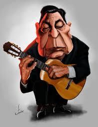 Atahualpa Yupanqui | Caricature, Instruments art, Gaucho
