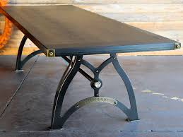 vintage industrial furniture tables design. Table Wood IndustriaLux-Walnut-and-Brass Vintage Industrial Furniture Tables Design S