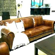 pottery barn leather sectional couch sofa covers chesterfield s