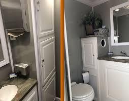 Portable Restroom Trailers Deluxe VIP Toilet Trailers Elegant Classy Trailer Bathroom Rental