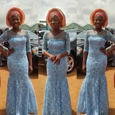 Top Ten Breathtaking Cord Lace Aso Ebi Styles Dabonke African