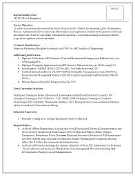 Excellent Resume Template Excellent And Professional Assistant Manager Resume Sample