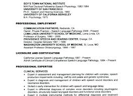 Speech Therapy Resume Stunning Speech Pathology Resume Examples Mmventuresco