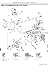 john deere f510 f525 repair manual front mower  youfixthis