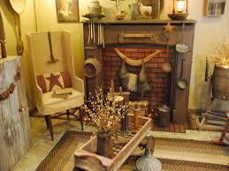 Primitive Country Living Room Thanksgiving Home Decorating Ideas Small Rooms Country Living