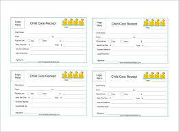 Receipt Template Download Child Care Invoice Template Excel Gkwiki