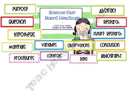 science fair headings printable science fair board titles printable best 25 science fair board ideas