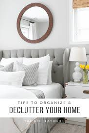 tips to organize and declutter your home