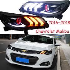 2016 Chevy Malibu Fog Light Kit Us 473 1 5 Off Car Styling For Chevrolet Malibu Headlight 2016 2018 2012 2015 Drl Bi Xenon Lens Hi Lo Parking Hid Fog Lamp Taillight Led In Car