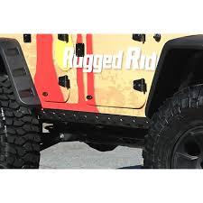 body armor kit rocker guard 07 18 jeep wrangler jk 4 door