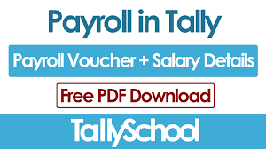 Payroll Download Payroll In Tally Erp 9 Salary Entry Free Pdf Download