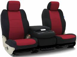 coverking black red neosupreme seat covers