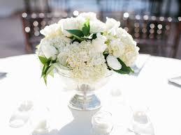 sliver pedestal white classic wedding flower centerpiece arrangement  louland falls utah calie rose lora grady photography