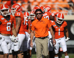 Spencer previously had visited the moonlands. Osu Coach Mike Gundy Says It S Been Awesome Here The Last Six Weeks Osu Sports Extra Tulsaworld Com